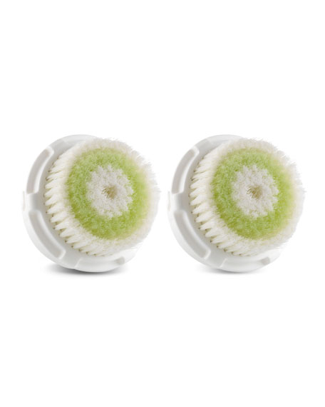 Replacement Acne Cleansing Brush Head, Dual Pack
