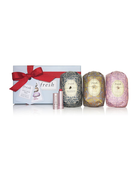 Oval Soap Trio Gift Set
