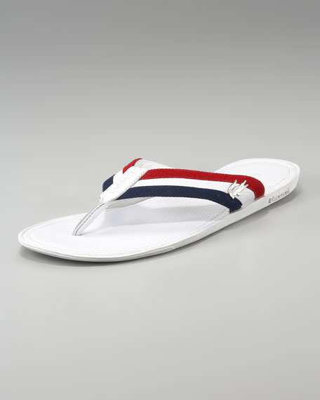 aac2feb4881 Lacoste Carros Striped Flip-Flop