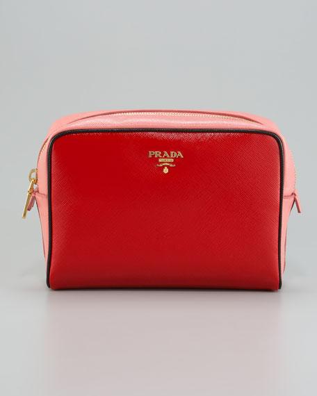 35666507f914 Prada Saffiano Vernice Cosmetic Case