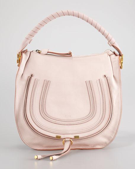 8fad37aa1 Chloe Marcie Medium Hobo Bag, Nude Pink