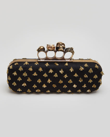 Knuckle Box long clutch - Black Alexander McQueen LrUohS