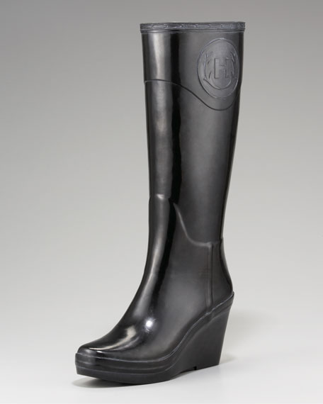 good texture check out popular stores Crest Wedge Rain Boot