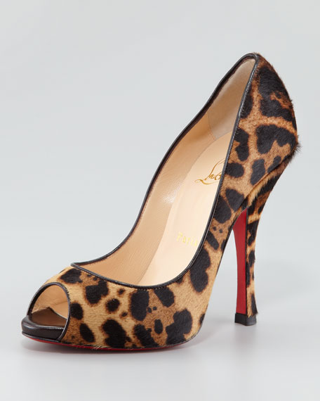 outlet ebay clearance sale online Christian Louboutin Printed Pointed-Toe Pumps PR5HVx