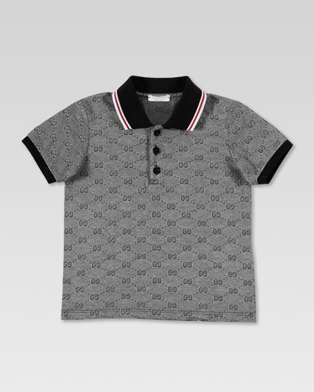 9de34a45 Gucci GG Polo Shirt, Navy