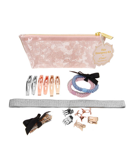 The Finest Accessories Hair Emergency Styling Kit, Rose Quartz Lace
