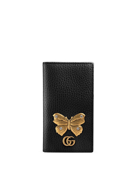 gucci linea farfalla iphone 7 cover with butterfly. Black Bedroom Furniture Sets. Home Design Ideas