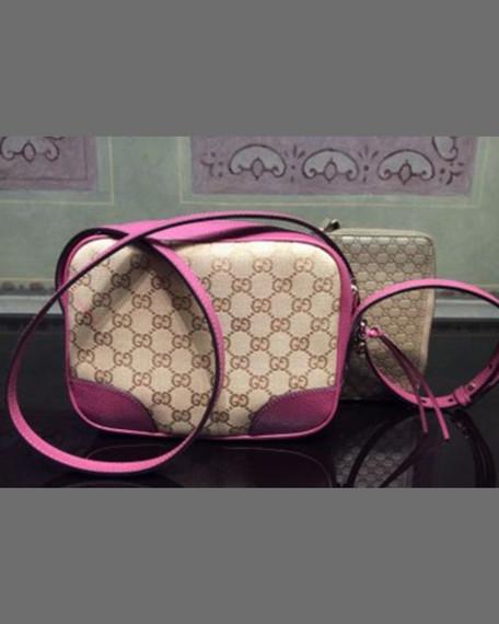 b60162c8913 Gucci Bree Small Guccissima Leather Camera Crossbody Bag
