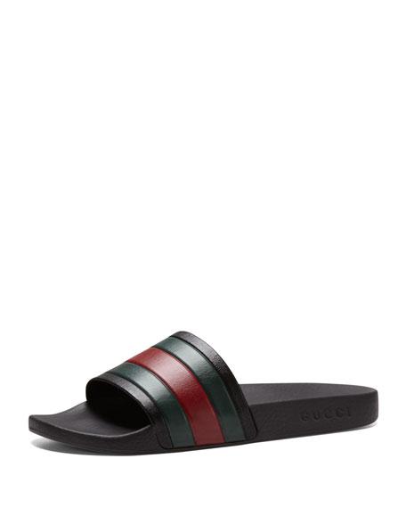 834c787e62b7 Gucci Pursuit  72 Rubber Slide Sandal