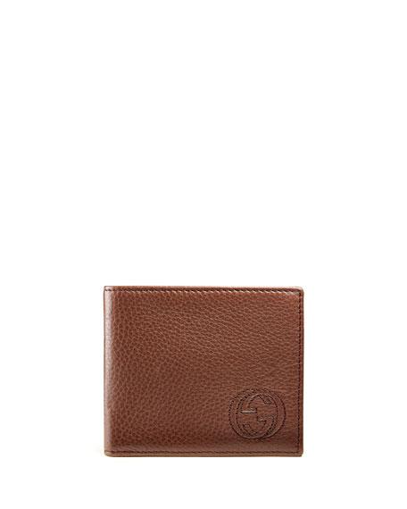 c4aba329aa8 Gucci Soho Leather Bi-Fold Wallet