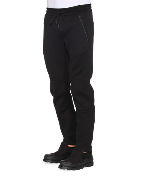 3cca8f6e2ad9 Fendi Drawstring Moto Sweatpants