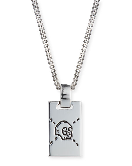 Leo Zodiac Sign Traits Dog Tag Necklace Pendant Stainless: Rectangular Pendant Necklace #VW54