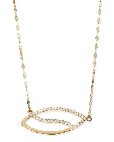 Diamond Femme Marquise Necklace
