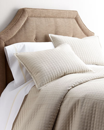 Ready-To-Bed Silk Coverlets & Shams