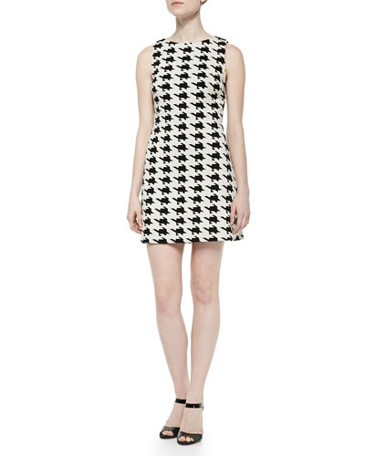 Eli Boat-Neck Sleeveless Dress