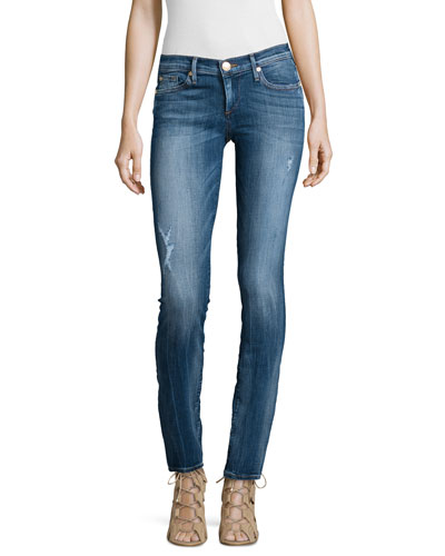 Casey Low-Rise Super Skinny Jeans, Abbots Alley