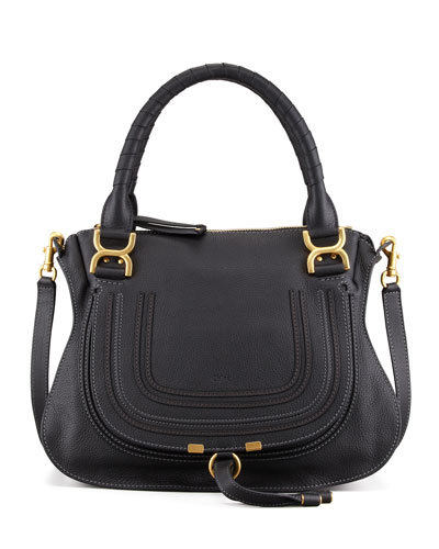 Marcie Medium Shoulder Bag, Black