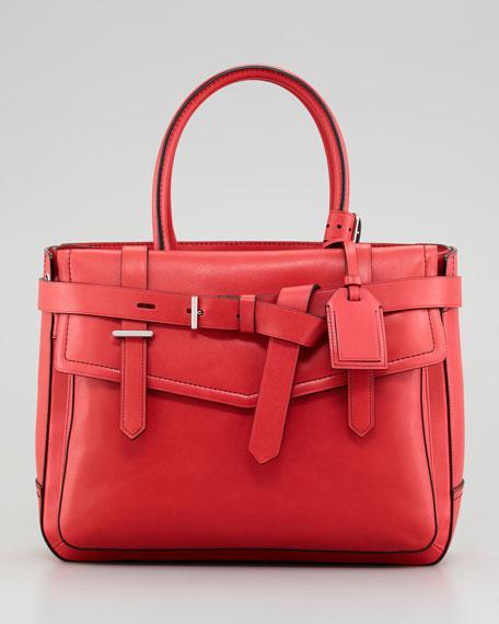 Boxer Tote Bag Red