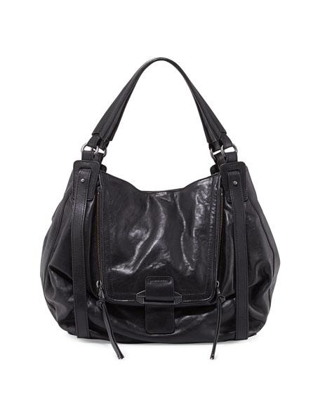 c684397b4 Kooba Jonnie Leather Hobo Bag, Black