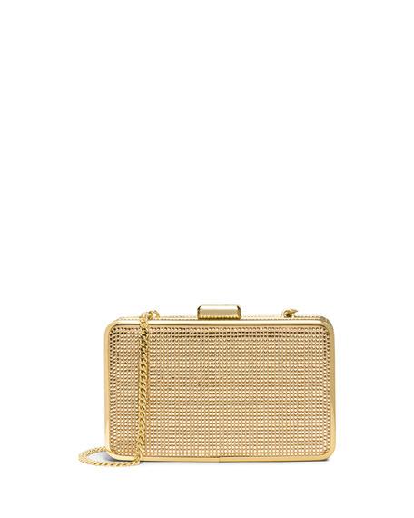 5a80849ee43b MICHAEL Michael Kors Elsie Crystal Box Clutch Bag, Blush/Topaz