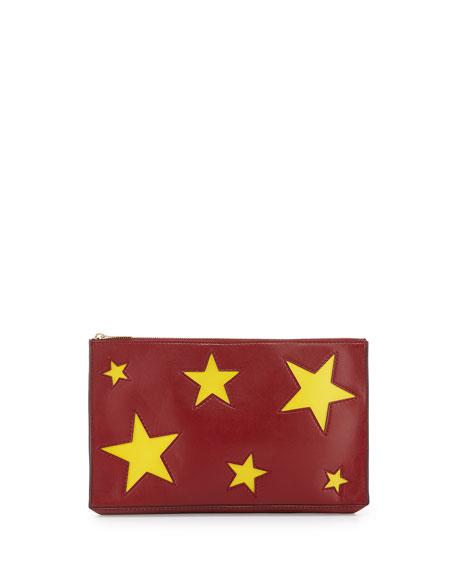 Stella McCartney Stars clutch Sast Cheap Price Discount Footlocker Pictures Sale Geniue Stockist 6pX64olQ2l