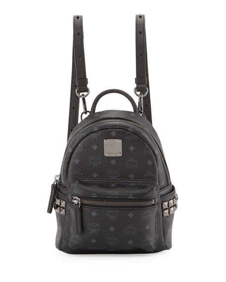 1d649534564a MCM Stark X-Mini Side Stud Backpack, Black