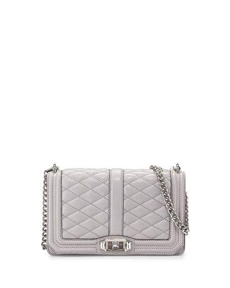 b1fa710a9f Rebecca Minkoff Love Quilted Crossbody Bag