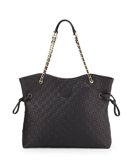 8835a1db922 Tory Burch Marion Quilted Slouchy Tote