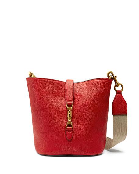 e71a26c37f9 Gucci Jackie Soft Leather Bucket Bag