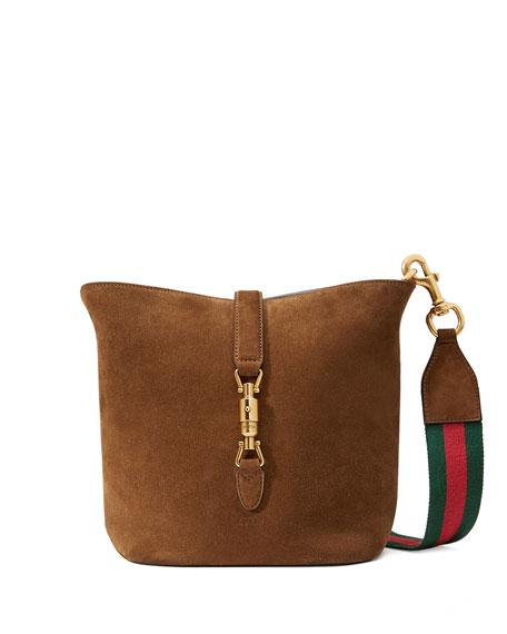 fe0db62ea0a Gucci Jackie Soft Suede Ombre Bucket Bag