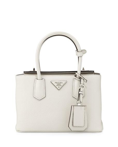 13dbb3ee7768 Prada Saffiano Cuir Twin Bag