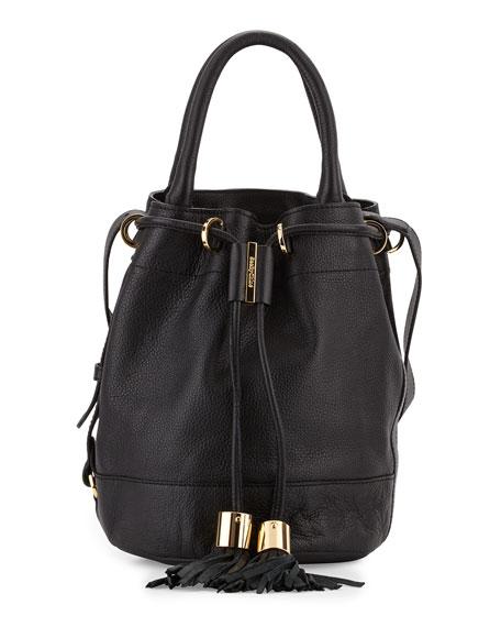 4644bea2e87a5 See by Chloe Vicki Leather Bucket Bag, Black