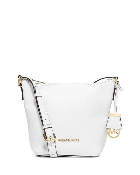 8facd624463bd9 MICHAEL Michael Kors Bedford Small Messenger Bag, Optic White