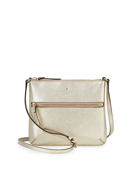 Cedar Street Tenley Crossbody Bag Gold