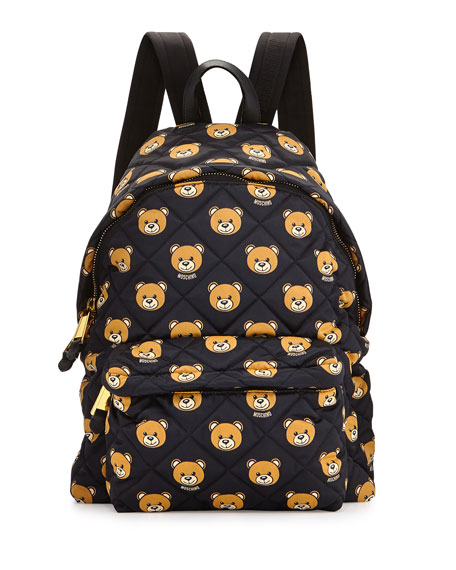 Moschino TEDDY PRINTED BACKPACK