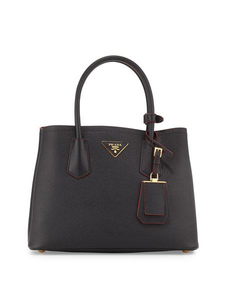 Prada Saffiano Cuir Double Bag 71bfdceffb651