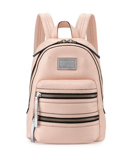top-rated original 2020 sale uk Domo Biker Leather Backpack Pearl Blush