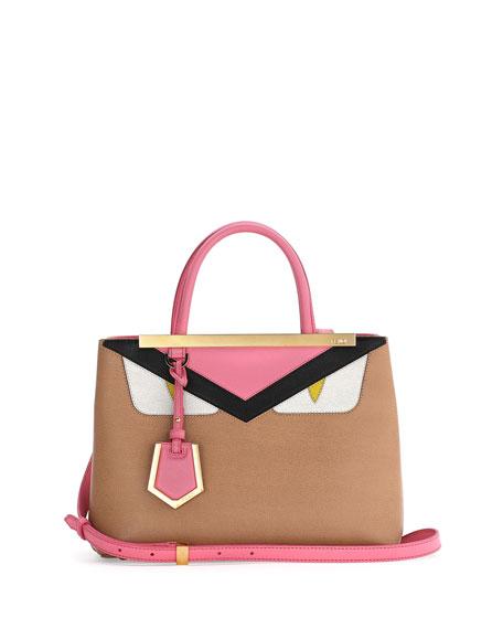 e0c6036137ad Fendi Petite Monster 2Jours Tote Bag