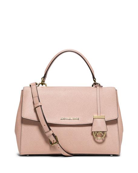 749351f0d4f9 Michael Kors Ava Medium Saffiano Leather Satchel; Ava Medium Saffiano  Leather Satchel Bag, Ballet