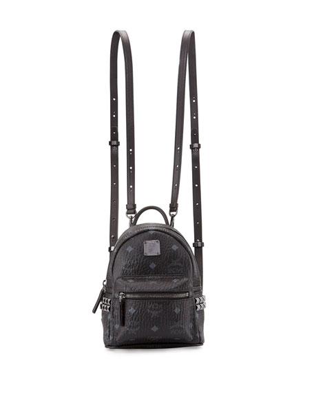 X-Mini Stark Backpack in Black Visetos MCM dWCWX6s4