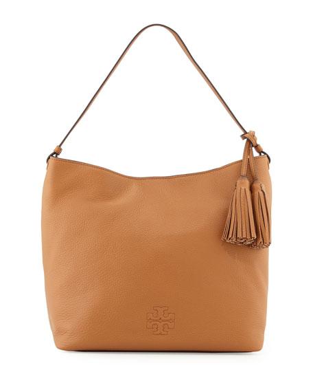 bbd785fcd76c Tory Burch Thea Leather Hobo Bag