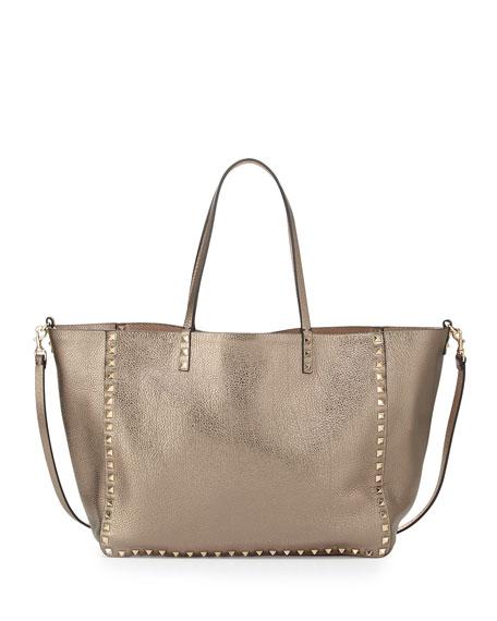 ae4800c97c30 Valentino Rockstud Reversible Tote Bag