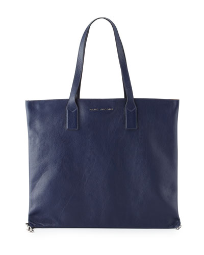 Wingman Shopping Tote Bag, Midnight Blue/Multi