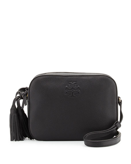 dda514de8a Tory Burch Thea Shoulder Bag w/Tassel, Black