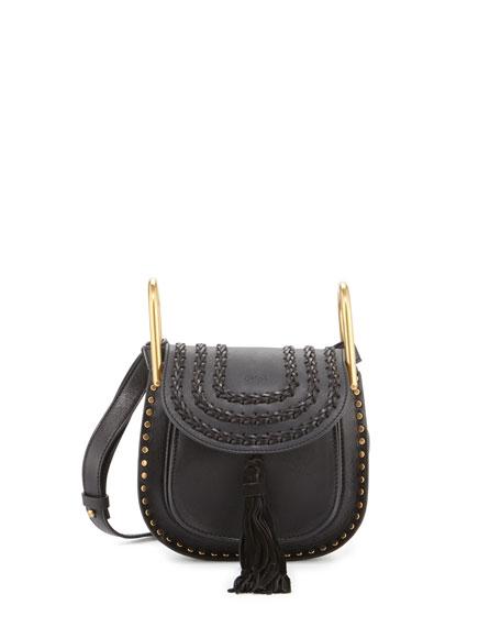 3b8616bb91 Chloe Hudson Mini Leather Shoulder Bag, Black