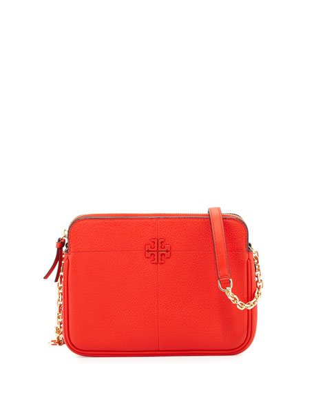 069113e002a Tory Burch Ivy Leather Crossbody Bag