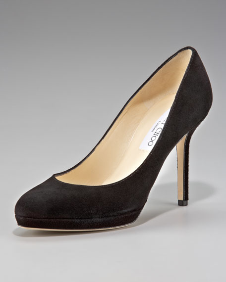 cheap Manchester buy cheap visa payment Jimmy Choo Platform Suede Pumps cheap in China xWJ2le
