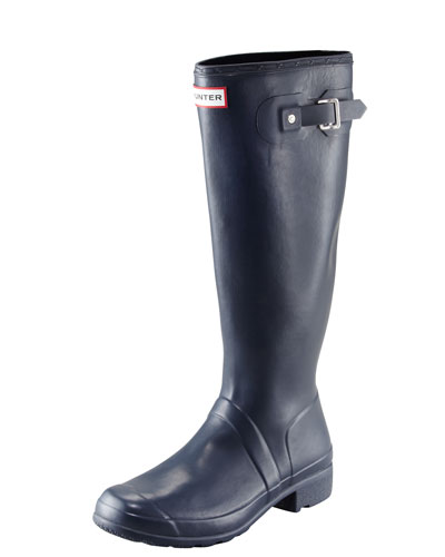 Original Tour Buckled Welly Boot, Navy