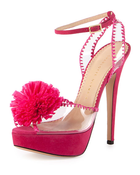 Pomeline sandals - Pink & Purple Charlotte Olympia qoYo3vHgJ
