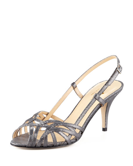 cheap wholesale price genuine cheap price Kate Spade New York Shari Metallic Sandals gpBYbNGYP
